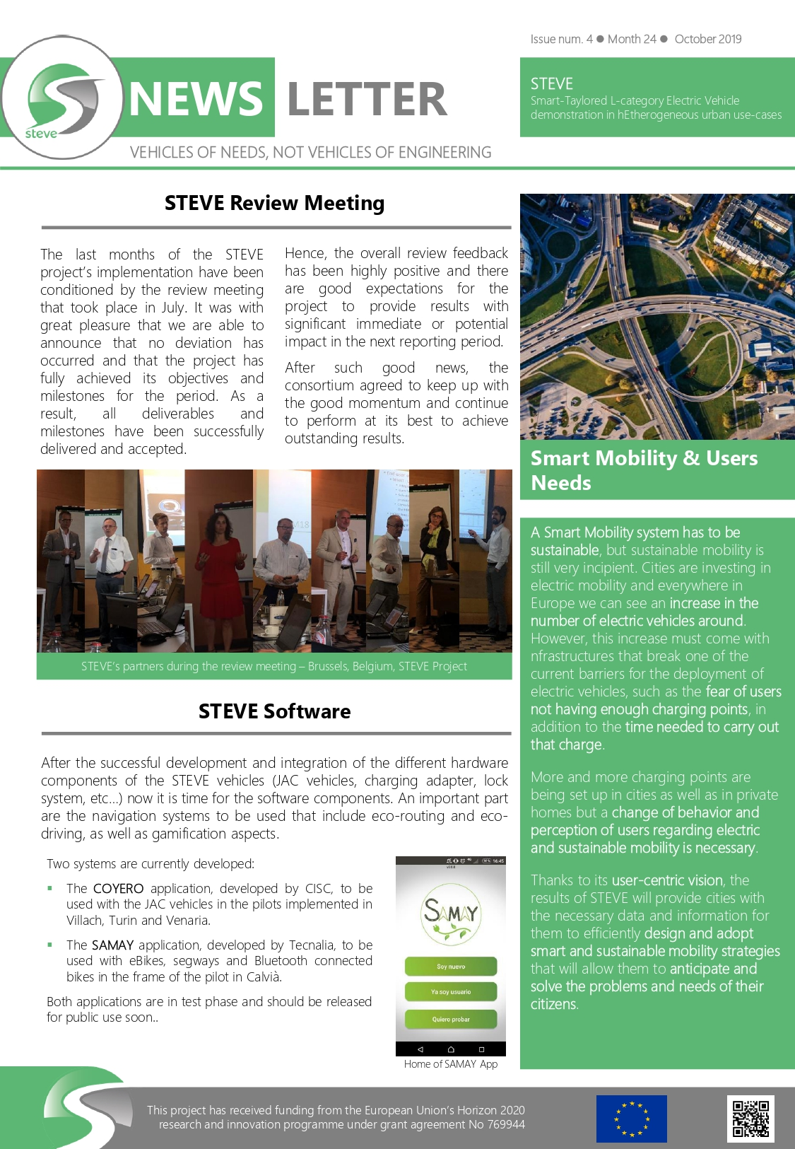 STEVE Newsletter   Issue 4