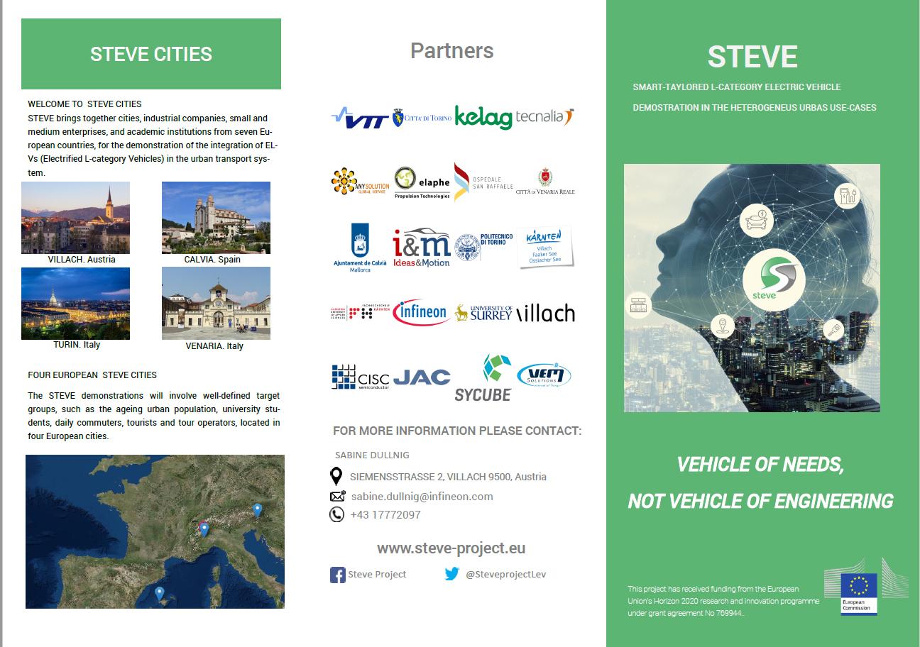 Steve leaflet