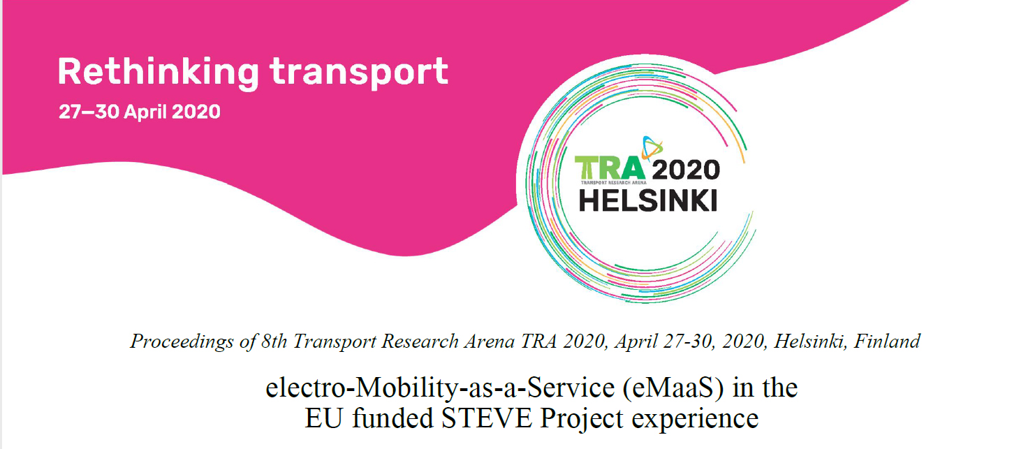 electro-Mobility-as-a-Service (eMaaS) in the EU funded STEVE Project experience