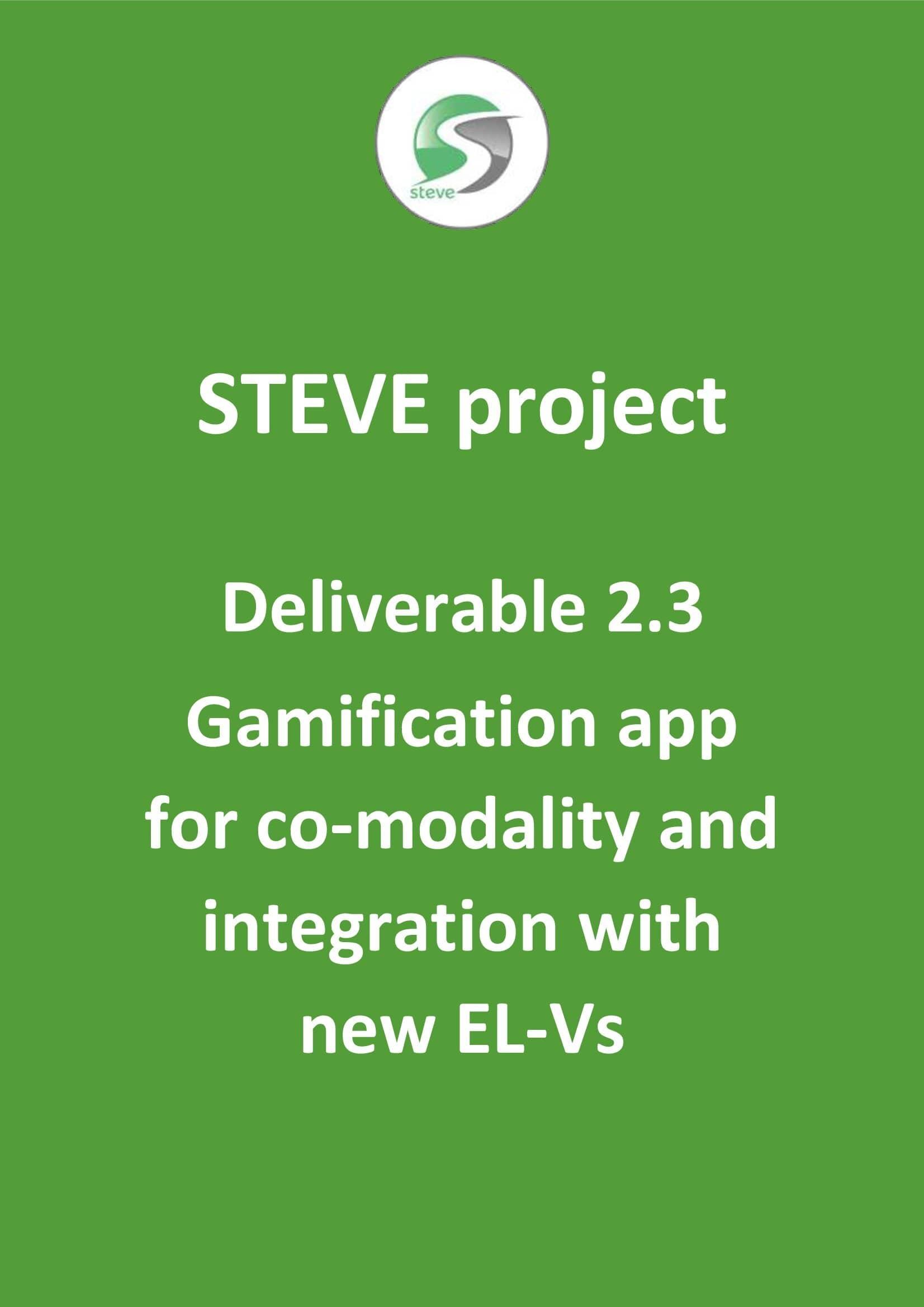 Deliverable 2.3