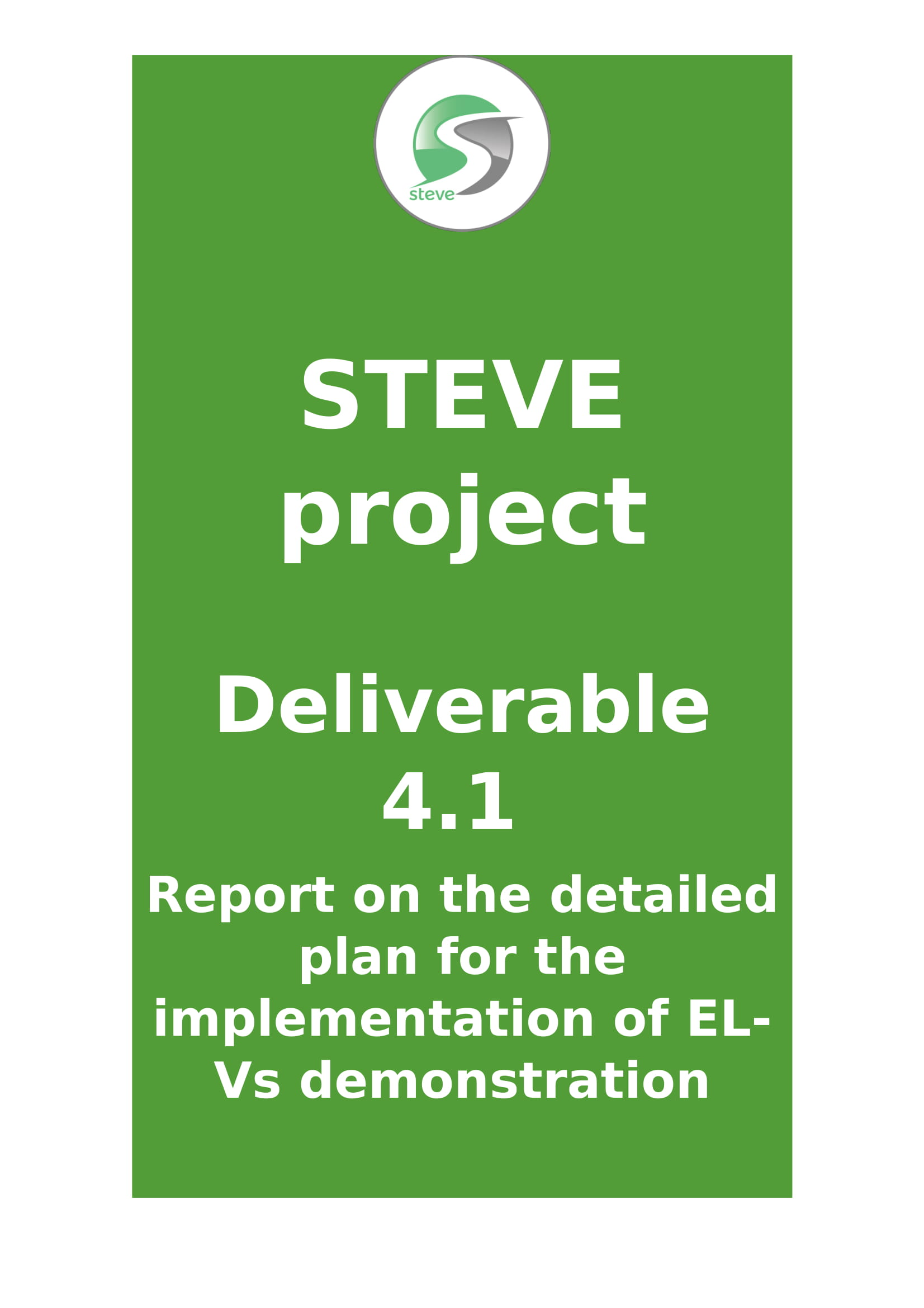 Deliverable  4.1