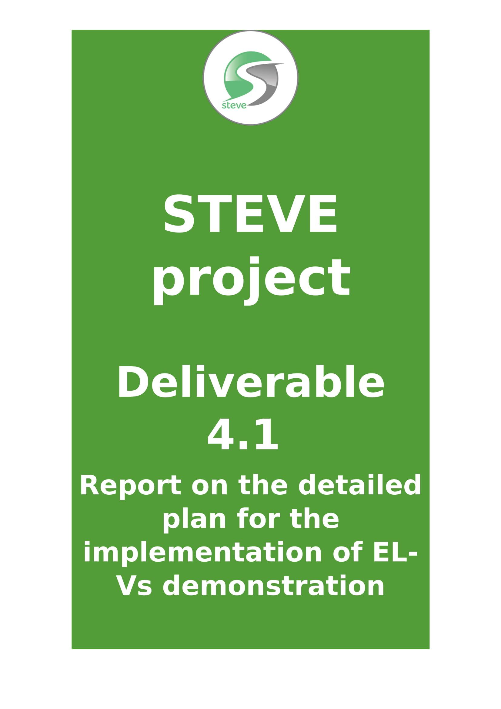 Deliverable  4.1