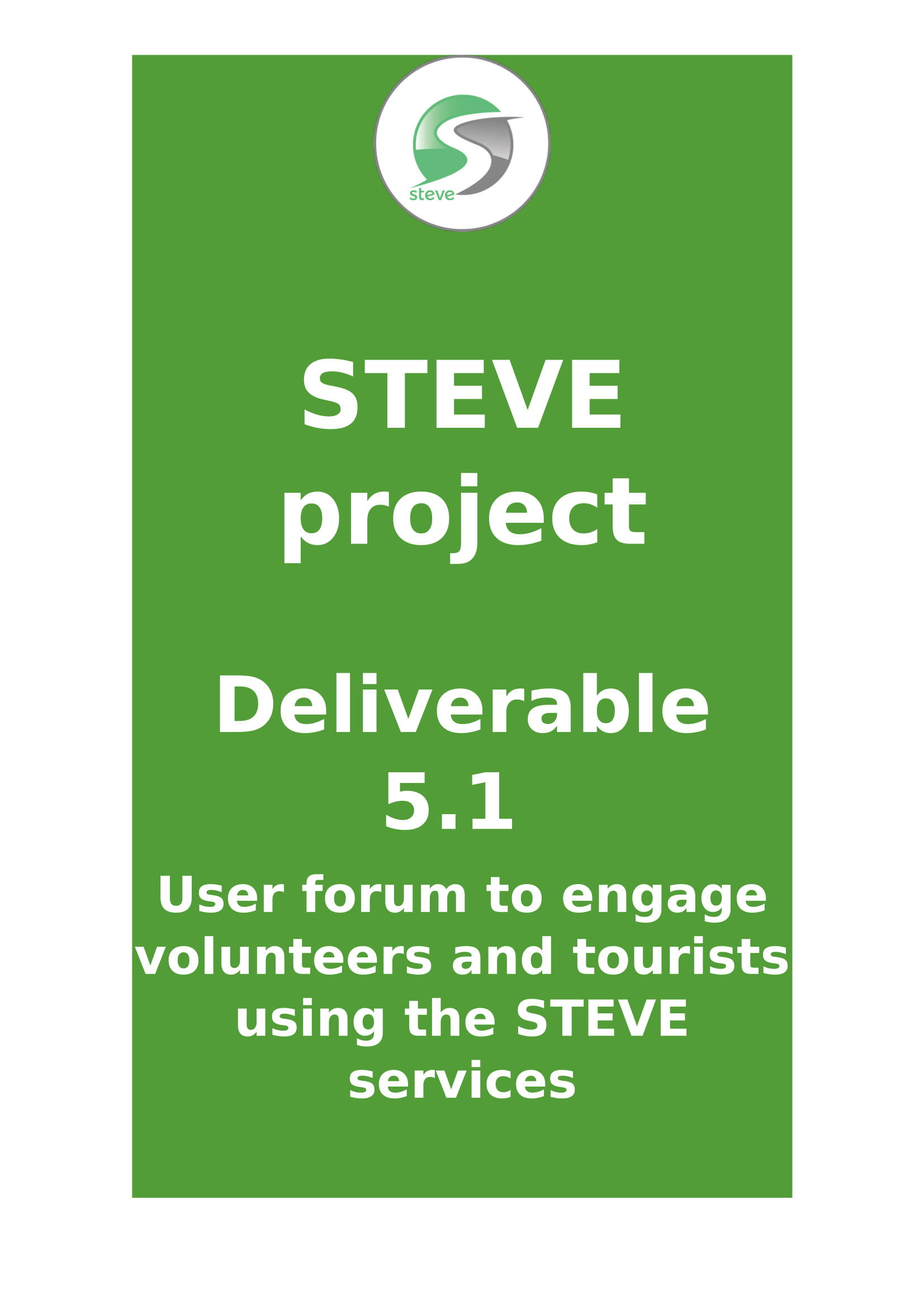 Deliverable 5.1