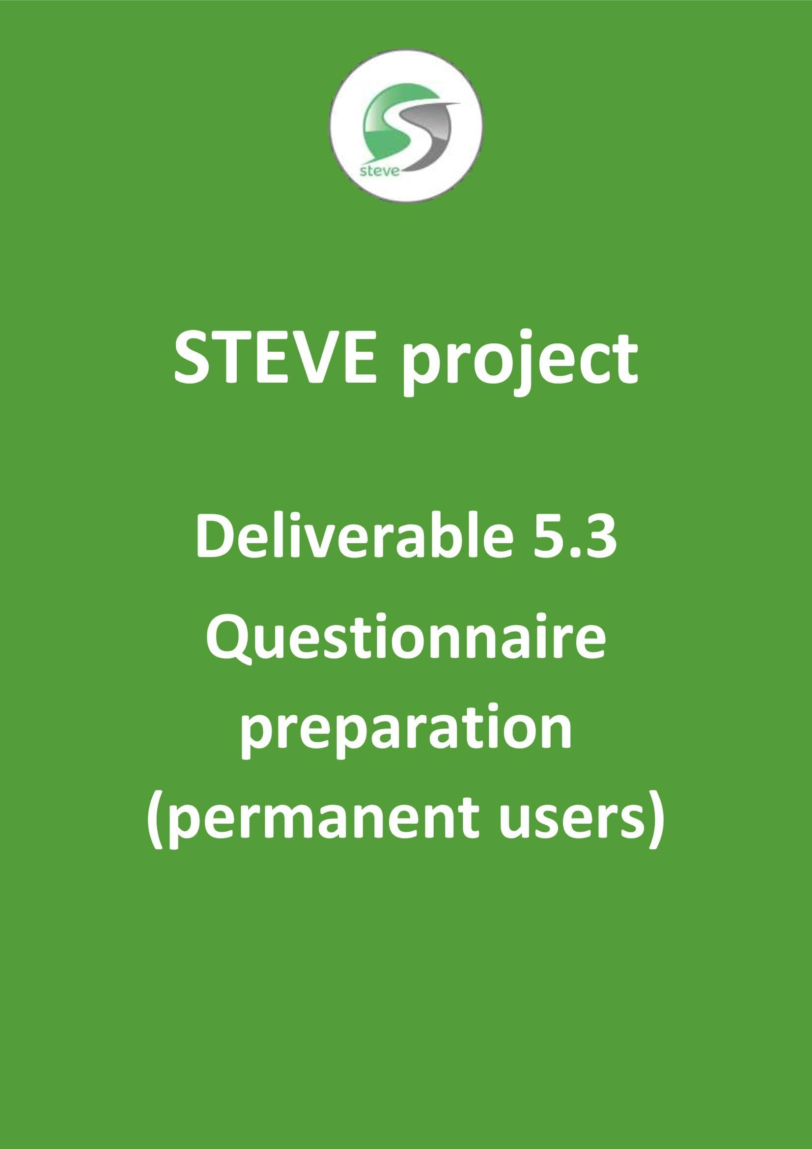 Deliverable 5.3