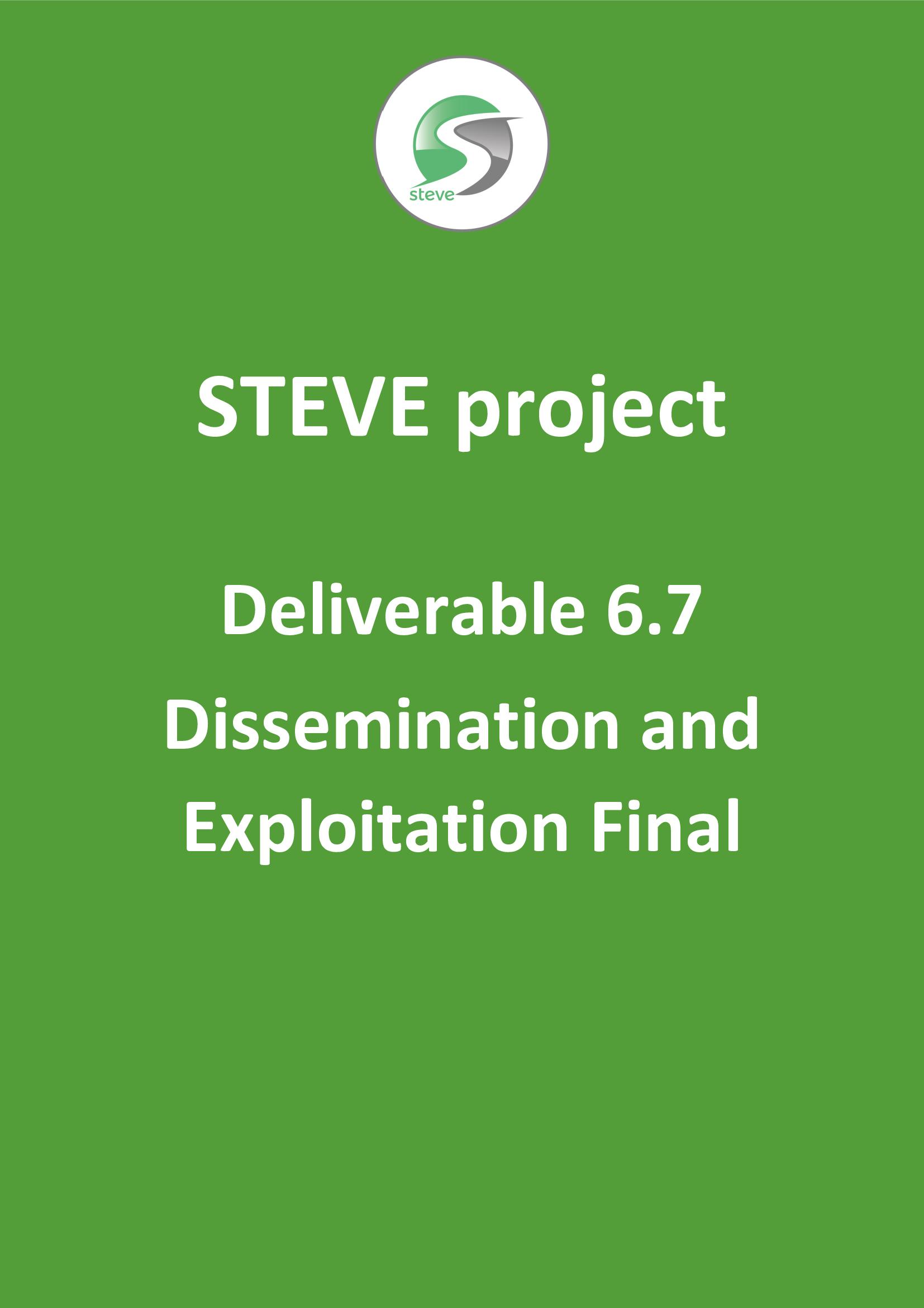 Deliverable 6.7