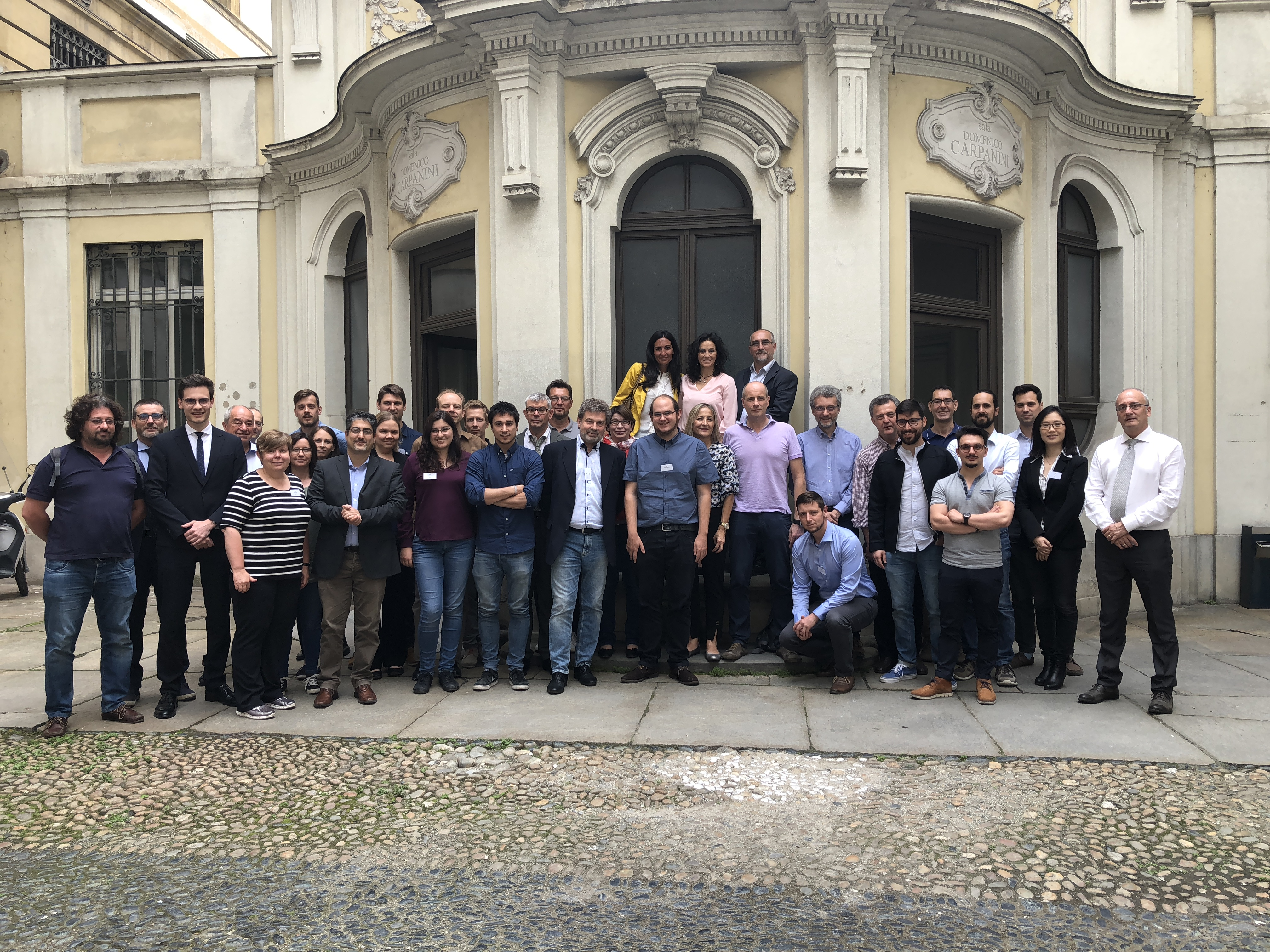 Steve Project Meeting, June 11, 2018. Tourino (Italy)